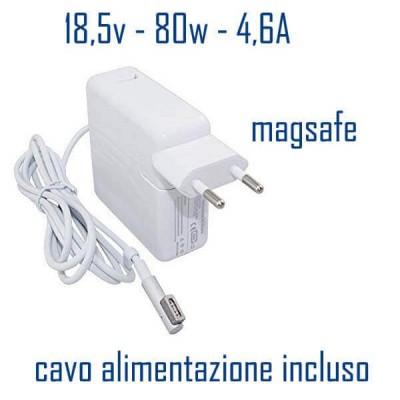 Alimentatore Compatibile 80W 18,5V 4,6A Magsafe Apple Cavo Alimentazione Incluso
