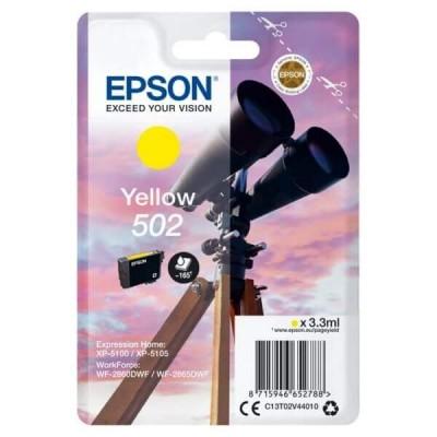 Cartuccia Originale Epson C13T02V44010 502 Y Yellow 3,3ml 160 Pagine