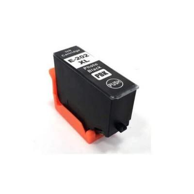 Cartuccia Compatibile Epson C13T02H14010 202XL Photo BK Nero 13 ml 800 Pagine Non Originale