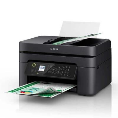Stampante Multifunzione Epson WF-2830DWF Wifi 4 in 1 Adf Scansione Copia Stampa Fax Fronte Retro Automatico