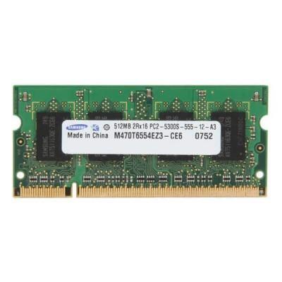 Memoria Sodimm Samsung 512mb 667mhz PC2-5300S-555-12-A3 Usata Funzionante