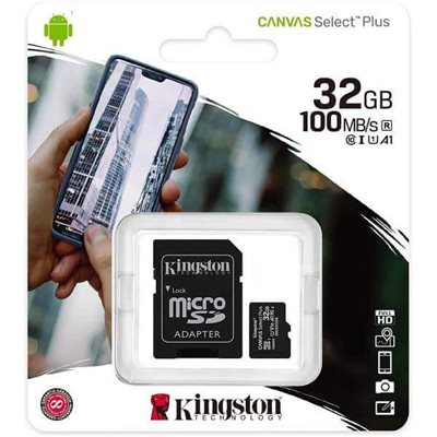 MicroSd Kingston 32Gb Classe 10 SDCS2/32GB