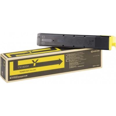 Toner Originale Kyocera 1T02LKANL0 TK8305Y Y Yellow 15000 Pagine