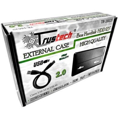 """Box Esterno per Hard Disk da 2,5"""" Sata 2.0 TR-16620 Trustech"""