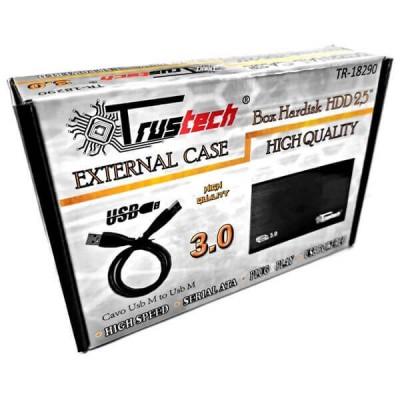"""Box Esterno per Hard Disk da 2,5"""" Sata 3.0 TR-18290 Trustech"""