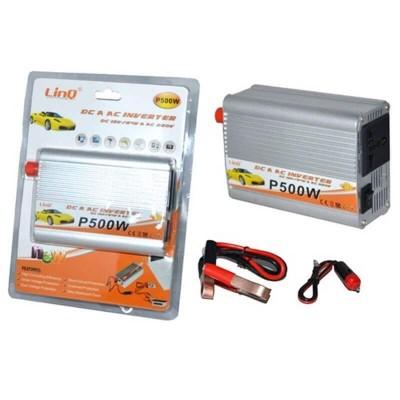 Inverter Linq P500W Dc A Ac Inverter Dc 12v / 24v A Ac 220v