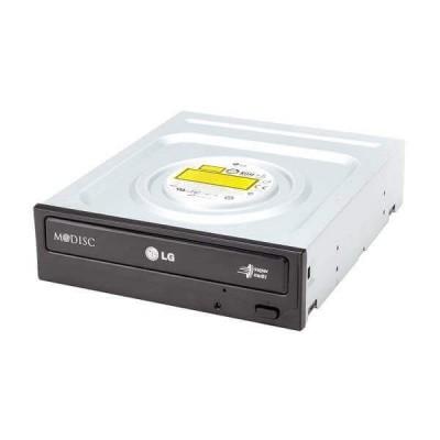 Masterizzatore Lettore DVD-RW interno Sata Lg GH24NS95 Nuovo Nero