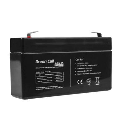 Batterie Ermetica al Piombo per UPS e Allarmi e Altri dispositivi 6v 1,3Ah