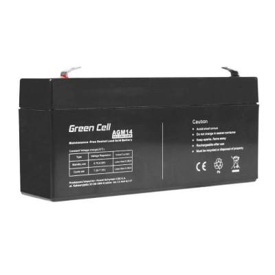 Batterie Ermetica al Piombo per UPS e Allarmi e Altri dispositivi 6v 3,2Ah