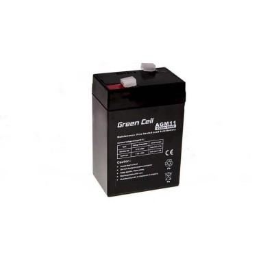 Batterie Ermetica al Piombo per UPS e Allarmi e Altri dispositivi 6v 5,0Ah
