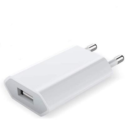 Carica Batterie USB 1A Bianco Bulk