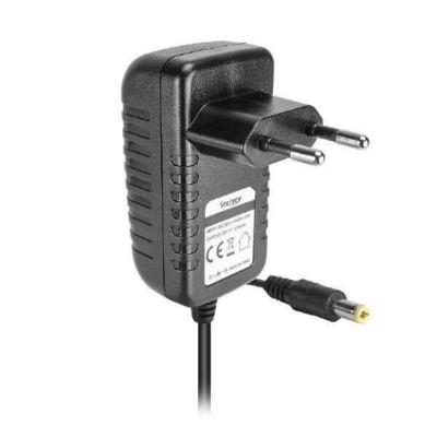 Alimentatore AC DC Input 100-240V AC 50-60Hz 0.5A Output 12VDC 2A 5,5mm x 2,5 mm Vultech