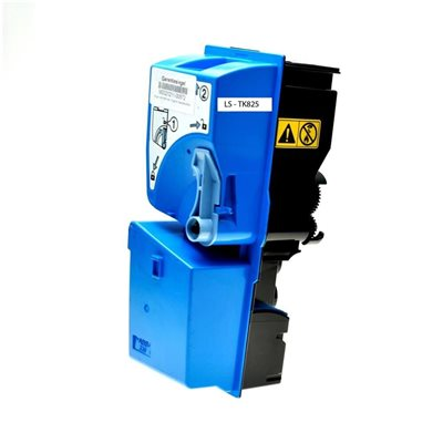Toner Compatibile Kyocera 1T02FZCEU0 TK825C C Ciano 7000 Pagine Non Originale