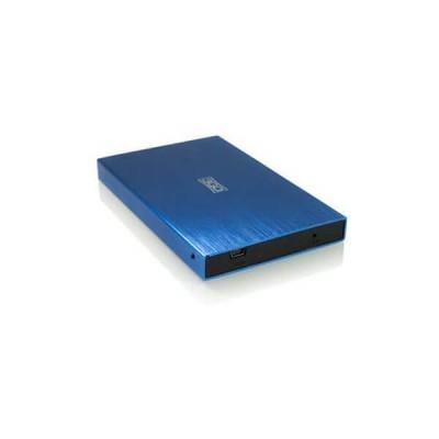 """Box Esterno per Hard Disk da 2,5"""" Sata 2.0 3GO HDD25BL13 Blu"""
