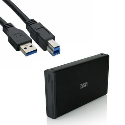 Box Esterno 3GO HDD35BK312...