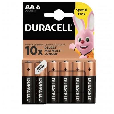 Blister 6 Batterie Duracell...