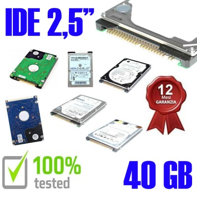"Hard Disk Usato Ide  2,5""..."