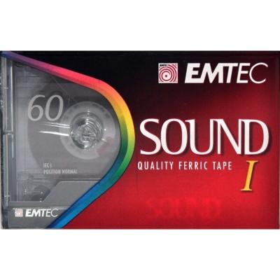 Audio Cassetta EMTEC 60min...