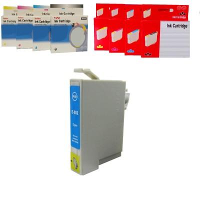 CARTUCCIA COMPATIBILE EPSON T0802 C CIANO CHIP NO Oem