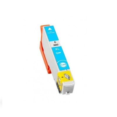 CARTUCCIA COMPATIBILE EPSON 26XL T2632 C13T26324010 C Ciano CHIP NO Oem