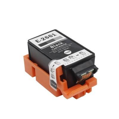 CARTUCCIA COMPATIBILE EPSON 266 T2661 C13T26614010 Bk Nero CHIP NO Oem