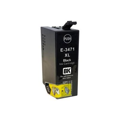 CARTUCCIA COMPATIBILE EPSON T3471 XL BK NERO CHIP NO Oem