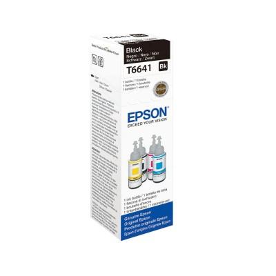 Flacone Inchiostro Originale Epson T6441 Bk Nero da 70ml