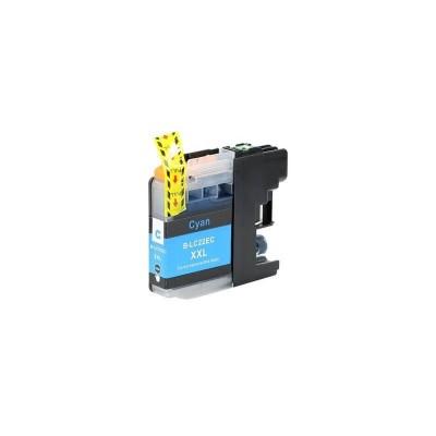 CARTUCCIA COMPATIBILE BROTHER LC22E C Ciano No Oem Con CHIP 1200 Pagine