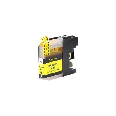 CARTUCCIA COMPATIBILE BROTHER LC22E Y Yellow No Oem Con CHIP 1200 Pagine