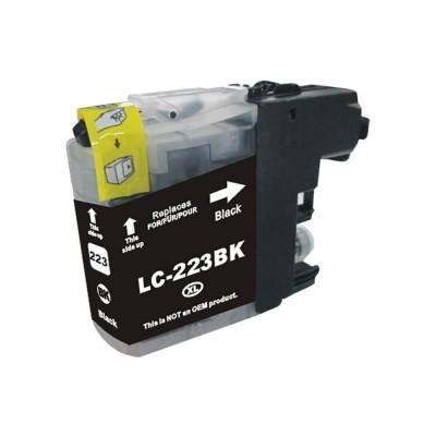 CARTUCCIA COMPATIBILE BROTHER LC-221 LC-223 BK CON CHIP No Oem