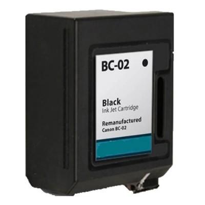 Cartuccia Compatibile Canon BC-02 0881A002 Bk Nero No Oem