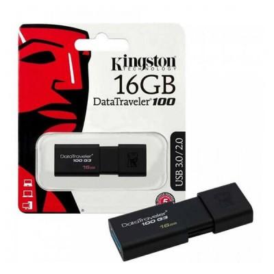 Pendrive Kingston 16Gb Usb 2.0 3.0 DT100G3/16GB