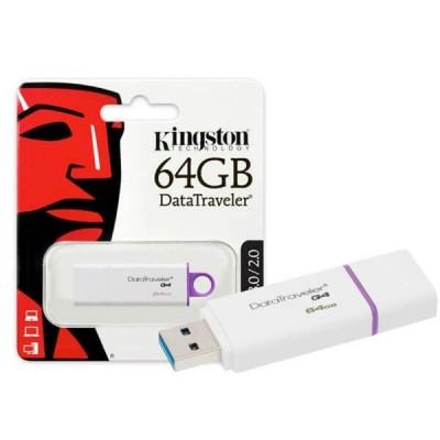 Pendrive Kingston 64Gb Usb 2.0 3.0 DTG4/64GB