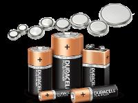 Batterie Alcaline, Zinco, Litio, Ministilo, Stilo, Torcia, Mezza torcia