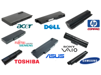 Batterie Originali e Compatibili Acer, Asus, Dell, Hp, Sony, Samsung