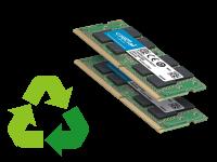 Memorie Notebook Sodimm DDR DDR2 DDR3 DDR4 Usate e ricondizionate