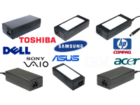 Alimentatori Notebook, Acer, Asus, Hp, Toshiba, Samsung, Dell, Sony